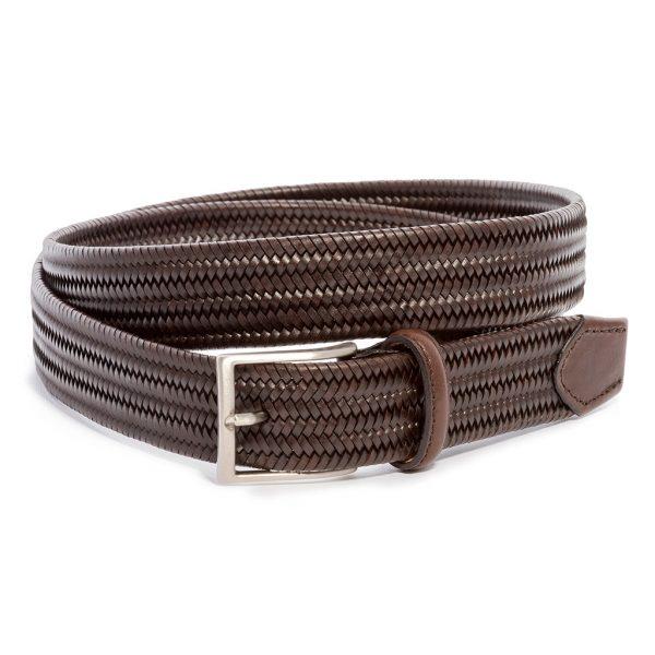 Cintura elasticizzata vera pelle
