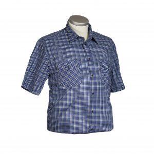 camicia taglie grandi mezza manica cotone promozione