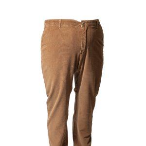 Pantalone in chino elasticizzato