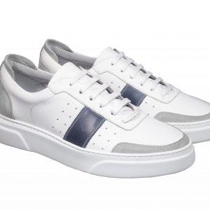 Scarpe sneakers pelle